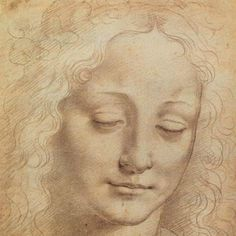 Leonardo da Vinci (1452 – 1519) Female Head.