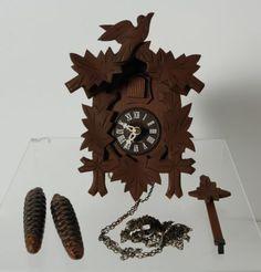 Authentic-Vintage-Albert-Schwab-Cuckoo-Clock-West-Germany-Wood-PARTS-REPAIR #vintage #AlbertSchwab #cuckooclock #clock #Germany