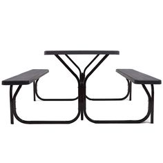 Outdoor Picnic Garden Party Table And Bench Set