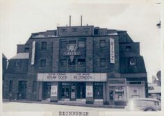 The Ritz cinema Edinburgh. I went to the ABC minors club here every Saturday morning. The entertainment was a mix of old Laurel and Hardy, Flash Gordon, children's Film Foundation shorts, and talent show (singing and dancing on the stage). I think it was thrippence to get in.