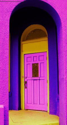 Paseo Arts District, Oklahoma City, Oklahoma / a bit too much. Grand Entrance, Entrance Doors, Doorway, Cool Doors, Unique Doors, When One Door Closes, City Photography, Door Knockers, Oklahoma City