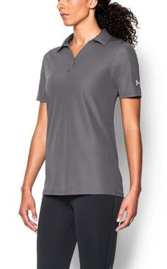 2e247d66 Look no further for the perfect women's corporate polo because this Under  Armour Corporate Women's Graphite