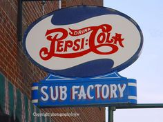 Pepsi Cola and Sub Sign by jwhanley, via Flickr