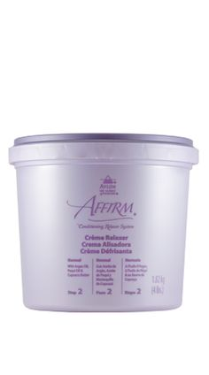 Affirm Products » Creme Relaxer(Step 2) - Avlon Industries