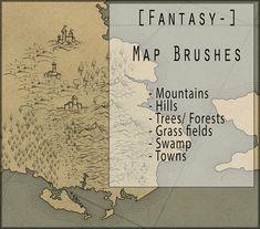 Map Brushes by https://morraey.deviantart.com on @DeviantArt