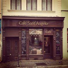 Café Sant' Angelo ve městě Olomouc