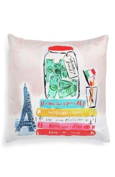 kate spade new york 'adventure fund' pillow