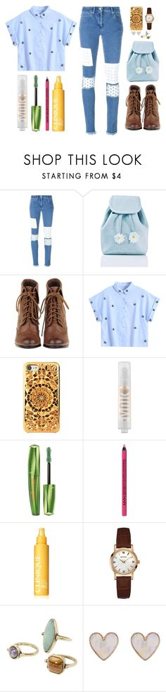 """""""Simple plan"""" by aby-ocampo ❤ liked on Polyvore featuring House of Holland, Sugarbaby, MILK MAKEUP, Rimmel, NYX, Clinique, Bulova, MANGO and New Look"""