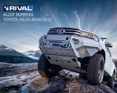 Toyota HiLux (RIVAL alloy bumpers)