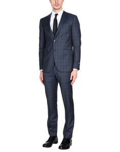 TOMBOLINI Men's Suit Slate blue 40 suit