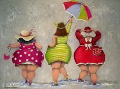 Einfach gute Laune - Yasmin Fashions - Hobbies paining body for kids and adult Plus Size Art, Fat Art, Chubby Ladies, Fat Women, Whimsical Art, Big And Beautiful, Rock Art, Painting & Drawing, Human Painting