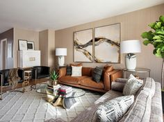 HGTV Fresh Faces of Design - Big City Digs: Midcentury-Style Apartment by Allison Lind >> http://www.hgtv.com/design/fresh-faces-of-design/2015/big-city-digs?soc=pinterest