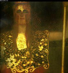 Pallas Athena, 1898, Gustav Klimt