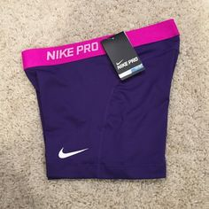 Nike Pro Training Shorts! 555 Brand new with tags! Nike sliders or training shorts. Great for running or lifting! I love these for running track! Nike Shorts