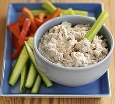 Smoked mackerel dip A tasty dip that you can keep in the fridge for a quick snack, full of omega-3's