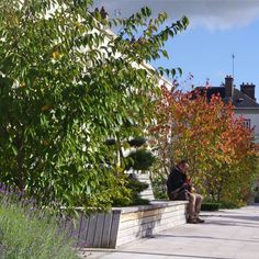 Square of the Liberation and the banks of the Seine Chanel,  by TN PLUS, in Troyes, France. #Landscape #Architecture