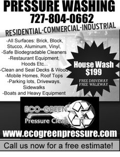 Pressure Washing Flyer Power Door Hanger Samples Window Cleaning Ad Template Word Powerwashing Flyers Took Business From