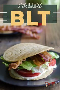 Who said being Paleo meant you'd have to give up your favorite dishes? This Paleo BLT recipe is perfect for beginners to the Paleo diet craving their favorite meals. Blt Recipes, Paleo Recipes Easy, Paleo Diet, Keto, Paleo Breakfast, Paleo Dessert, Healthy Fats, Food For Thought, Whole30