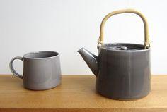 Dawe Teapot Gray -- ドーのティーポット グレー