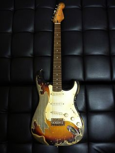 Fossilized Fender Strat II