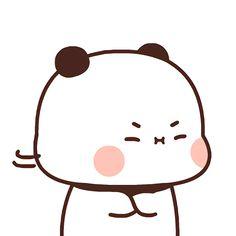 Cute Panda Wallpaper, Panda Wallpapers, Cute Little Drawings, Little Panda, Couple Wallpaper, Cute Images, Cute Gif, Cute Icons, Panda Bear