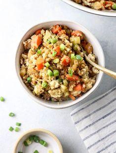 Cauliflower Fried Rice | Detoxinista