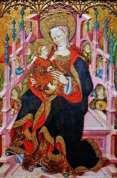 Bonanal Zaortiga, Madonna and Child Enthroned with Angels Making Music