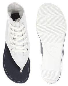 Converse All Star Thong High Flat Sandals, HAHAHAHA