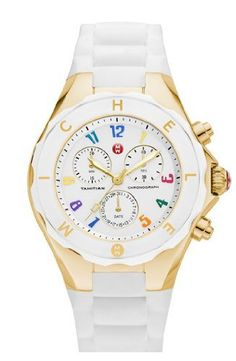 Women's Wrist Watches - Michele Womens Tahitian Jelly Bean Watch -- Details can be found by clicking on the image.