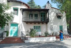 William S. Hart's historic home, Newhall, Santa Clarita, California.