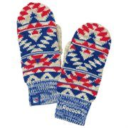 Reebok New York Rangers Ladies Face-Off Mittens - Royal Blue/Red