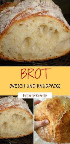Bread (soft and crispy)- Brot (weich und knusprig) Ingredients: 500 g wheat flour Type 405 cube yeast or 1 pck dry yeast tsp honey 330 ml water, lukewarm tsp salt some pepper, white flour to work - Mini Pizza Recipes, Healthy Pizza Recipes, Easy Bread Recipes, Mexican Food Recipes, Dessert Recipes, Bear Cakes, Dry Yeast, Pampered Chef, Food Porn