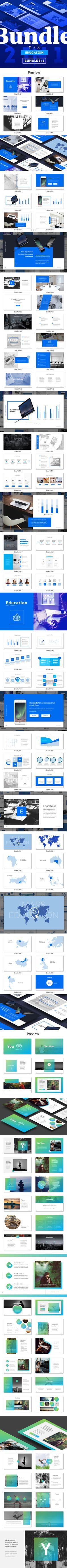 Poster design powerpoint - Bundle 1 1 Powerpoint Education