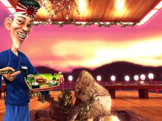 Play Sushi slots online.