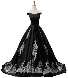 Sunvary 2016 Cap Sleeves Ball Gown Appliques Quinceanera Prom Dresses Reception Homecoming Pageant Sweety 16 Size 2- Black