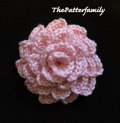 How to Crochet a Flower Pattern #64 │by ThePatterfamily