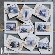 39 Meilleures Idees Sur Cadre Multi Photo Cadre Multi Photo Home And Deco Scrapbooking