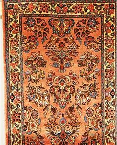 Sarogh,Persien ca 325 x 81 cm. Flor Wolle.