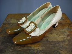 1960s 2-toned shoes