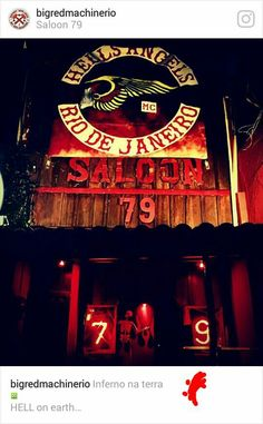 ☆H.A.M.C.- RIO DE JANEIRO/BRAZIL☆ Der Club, Gang Members, Angels Logo, Hells Angels, Motorcycle Clubs, Shovel, Chopper, Iron Man, Red And White