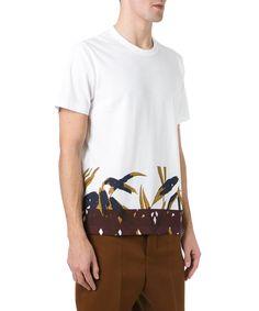 MARNI Marni Men'S M05Gc0074S22763980 White Cotton T-Shirt'. #marni #cloth #t-shirts
