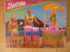 Barbie Hawaii Beach Party Playset by Mattel, 1990