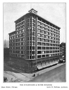 Beyond the Gilded Age: Carson, Store by Louis Sullivan, Chicago