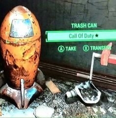 This Legendary gives: -5 Charisma -8 Intelligence and -60 caps per year. A great collectible for any true muy dedicado fps 12-year old gamers.  fallout fallout 4 fallout unique weapons fallout 4 legendary legendary weapons cod