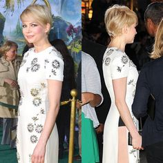 great hair - michelle williams Oz premier