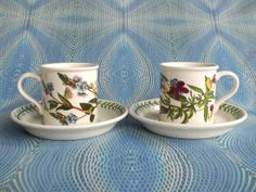 Portmeirion Espresso Cups And Saucers in by PurelyPortmeirion, £22.00