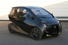 Electric vehicle : VéLV, a lightweight urban electric vehicle