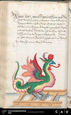 Nürnberger Schembart-Buch Erscheinungsjahr: 16XX  Cod. ms. KB 395  Folio 139