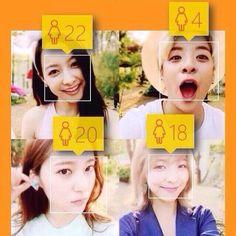 f(x) Amber got 4 haha #child #babyface