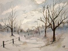 Hey, I found this really awesome Etsy listing at https://www.etsy.com/listing/209031306/original-watercolor-landscape-painting